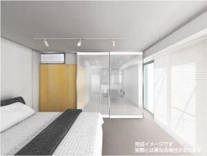ガニメデ 寝室 イメージ