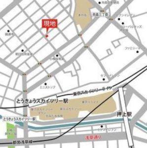 リベルテ・スカイツリー・イースト 地図