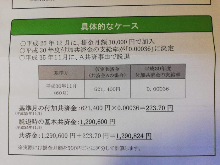付加給付金の具体例