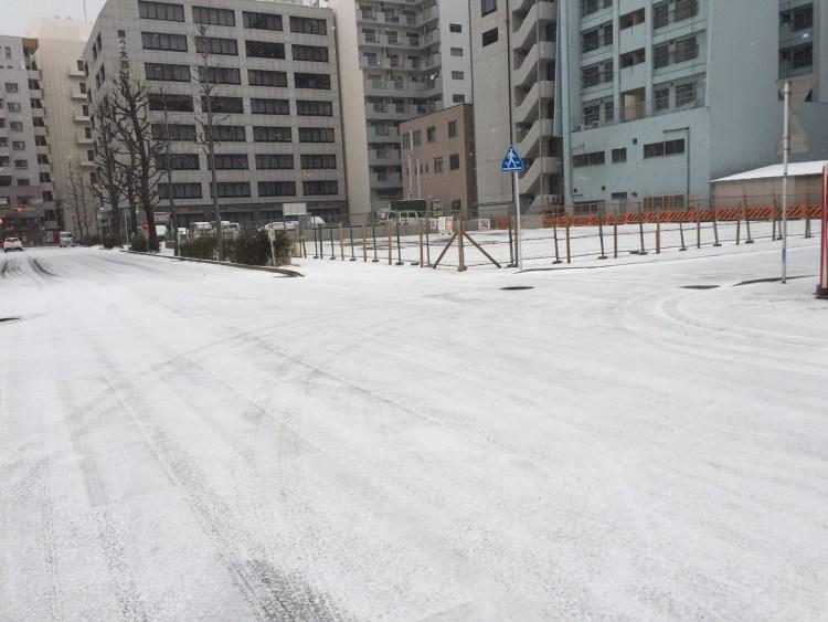 福岡市博多区  雪