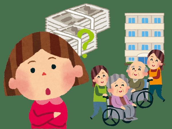 老人ホーム・介護施設の費用・料金