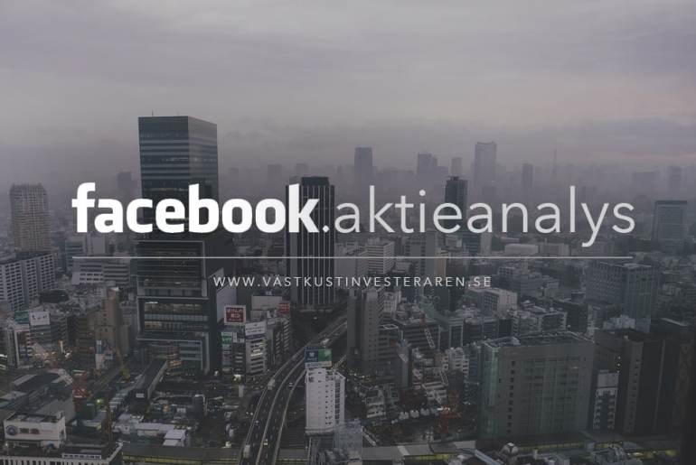 facebook aktieanalys