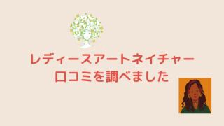 レディースアートネイチャー口コミ