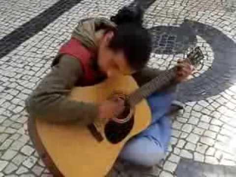 ポルトガル 路上ライブ