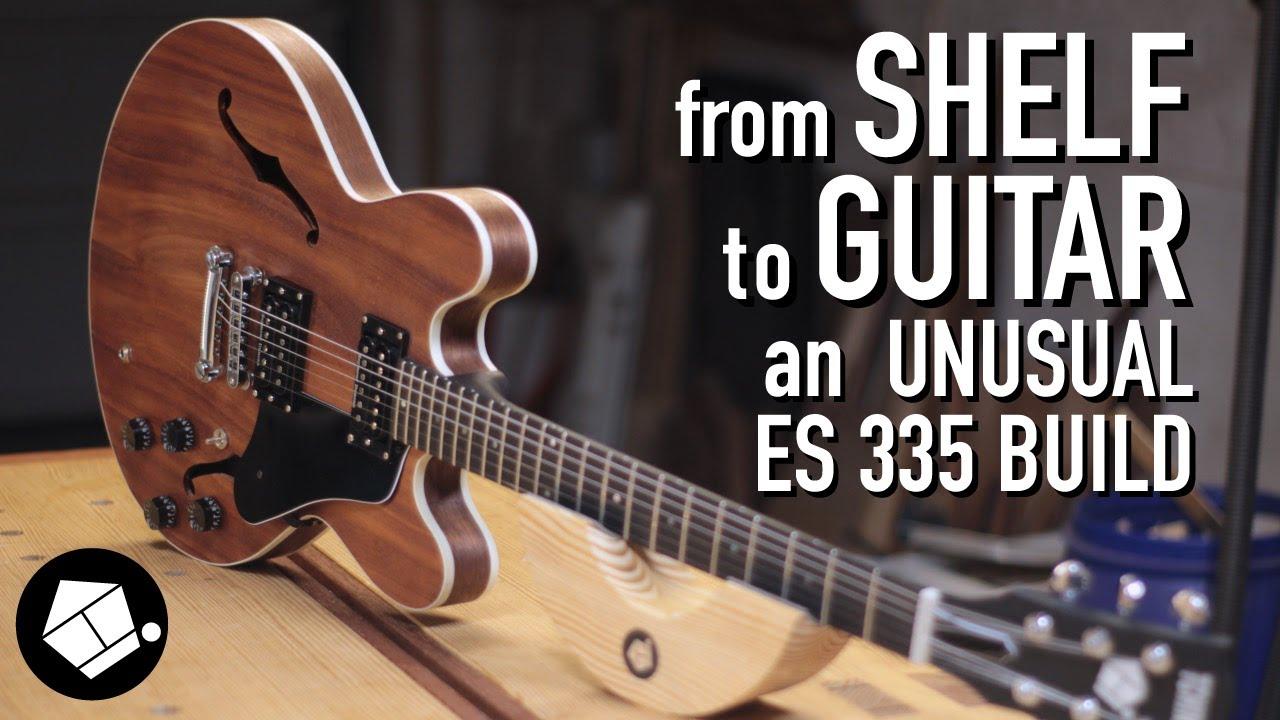 ロックダウン中なので家の棚からギター作ってみた