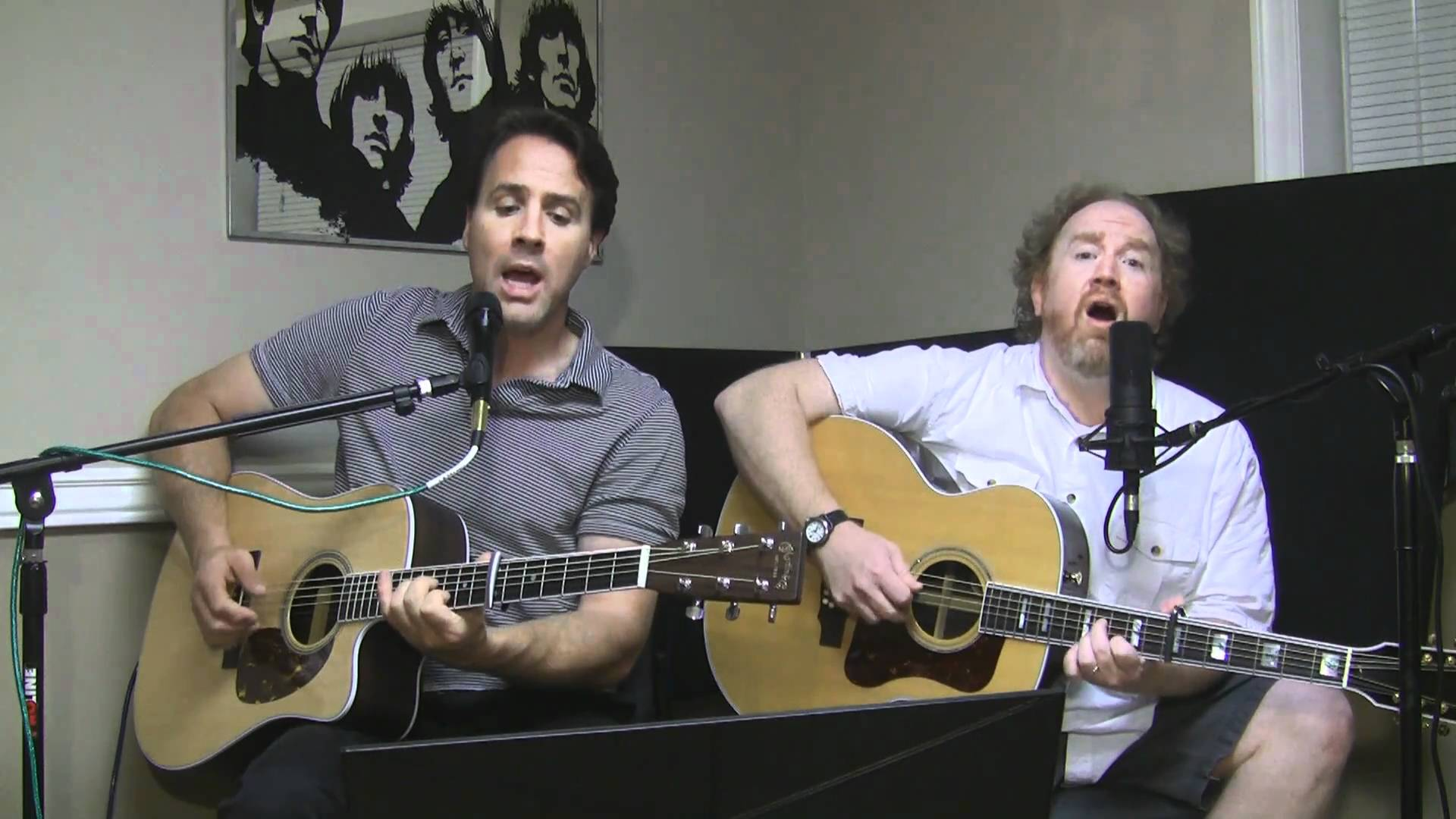 【Mike Masse and Sterling Cottam】Scarborough Fair/Canticle (Simon & Garfunkel cover)