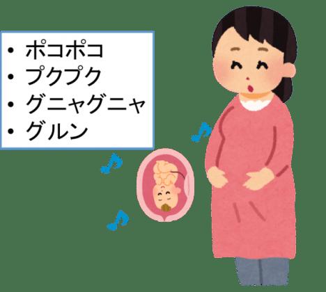 妊娠中期の胎動はどんな感じ?