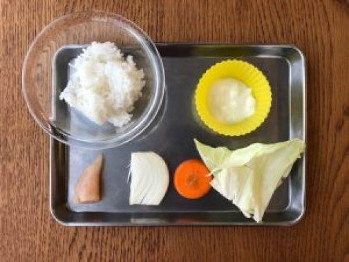 離乳食用ホワイトソースを使ったドリアのレシピ