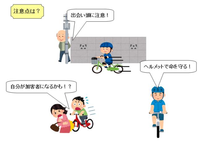 小学生 自転車 事故 注意