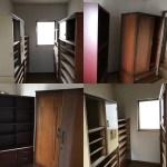 伊賀市で家具(タンス、婚礼家具、書棚、食器棚、クローゼット、チェスト、整理箪笥など)の移動、運び出しのご依頼でした。