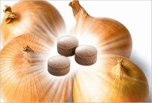 玉ねぎのサプリメント