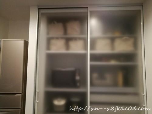 キッチン隠す収納&ダイソーストレージボックス