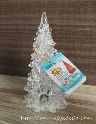 ダイソー光るクリスマスツリー