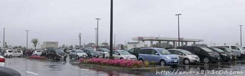 コストコ岐阜羽島の駐車場の写真