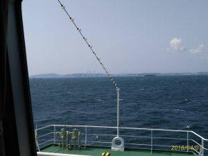 東京湾フェリー「かなや丸」から