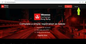 [超理解]Wowoo Exchange 香港登録方法ステップ1
