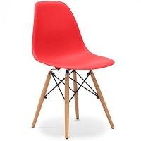 Stuhl Eames DSW Stil Rot 0 – MÖBEL24
