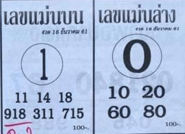 หวยซอง เลขแม่นล่าง16/12/61, หวยซอง เลขแม่นล่าง16-12-61, หวยซอง เลขแม่นล่าง16 ธ.ค. 61, หวยซอง เลขแม่นล่าง, หวยซอง
