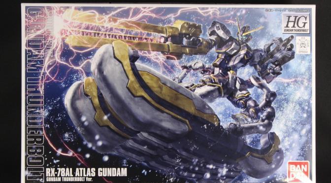 HG 1/144 アトラスガンダム (GUNDAM THUNDERBOLT Ver.) サンプル内容紹介