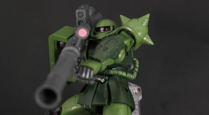 HG ザクⅡ C型/C-5型 素組 レビュー