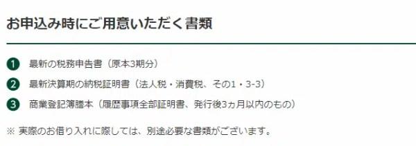 三井住友銀行「ビジネスセレクトローン」