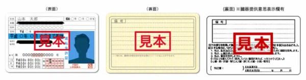 運転免許証(写し)