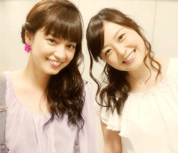 平愛梨と水卜麻美(右)