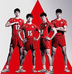バレー 男子 日本 代表