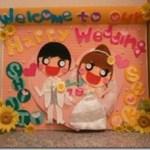 結婚式のウェルカムボードを手作り!受付に置きたいアイディア作品4選