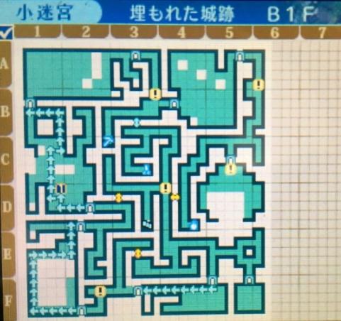 世界樹の迷宮X 埋もれた城跡
