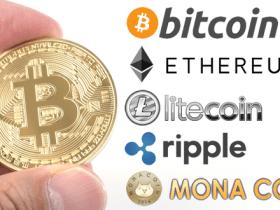 仮想通貨5種類を紹介