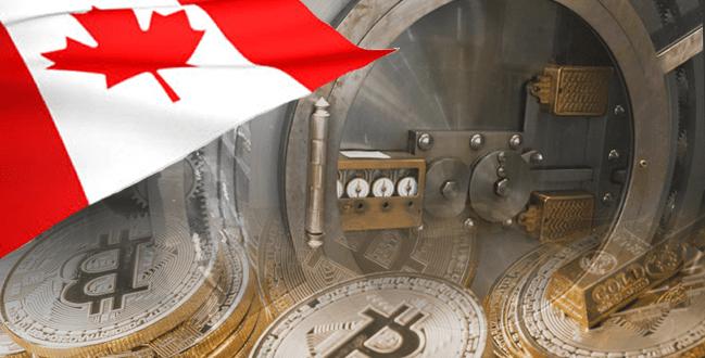 カナダの銀行が仮想通貨を保護する金庫を作る!