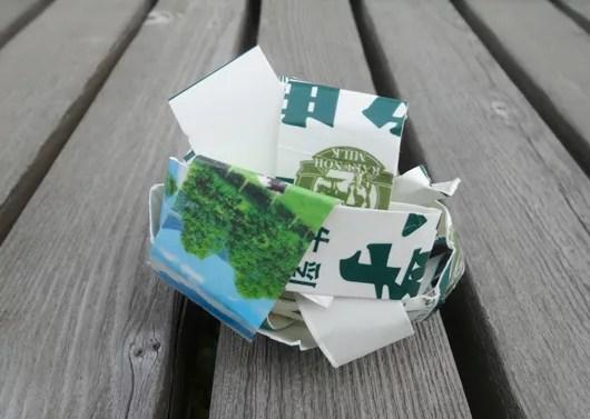 炭に着火するコツは新聞紙より牛乳パックを使う!5