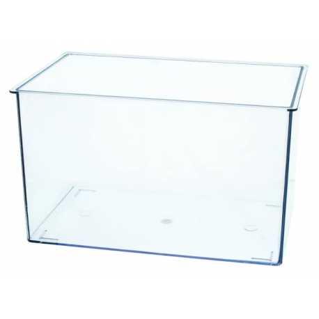 bac transparent en plexiglass 2 6l 18 5 x 12 x 13 cm
