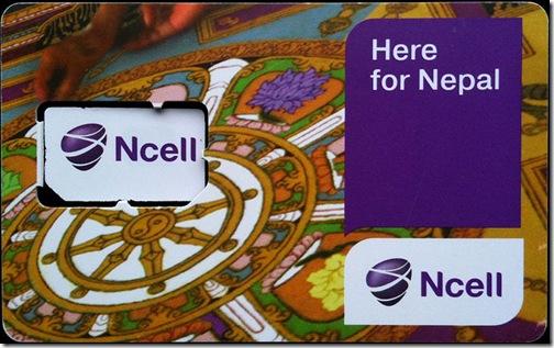 ncell-sim-card