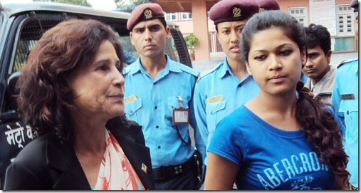 Nihita-mom-Arrested