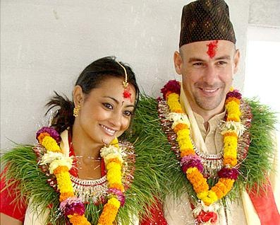 Jharana_ Bajracharya_ with_ warren_engaged