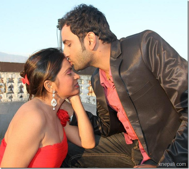 Krisha chaulagai _ pritam - valentine day photo (2)