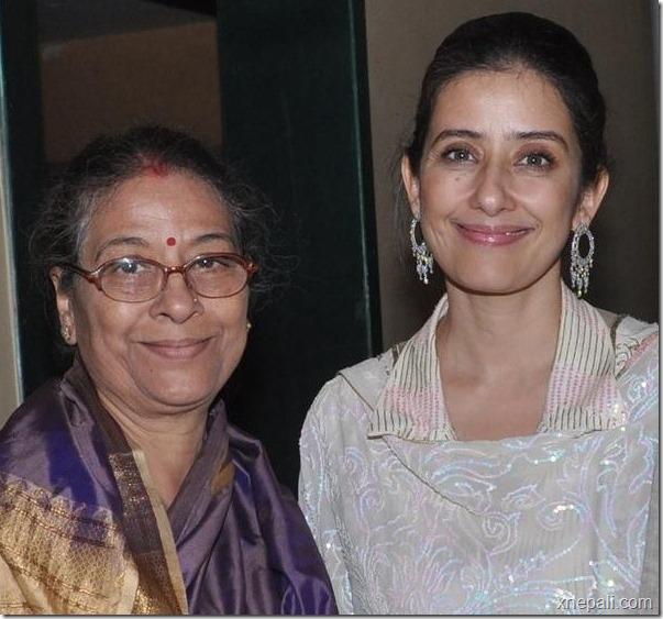 Manisha Koirala mom