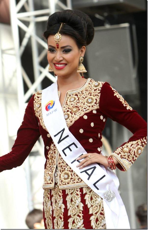 malina joshi miss nepal