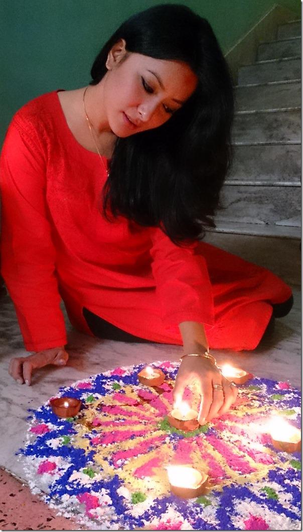 namrata Shrestha - laxmi puja