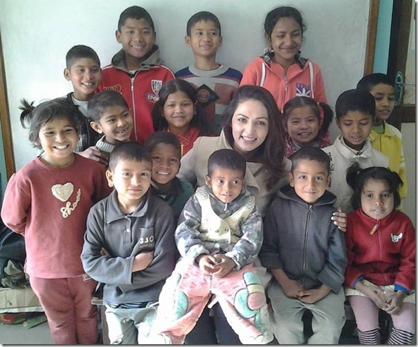 nandita with hiv postive kids
