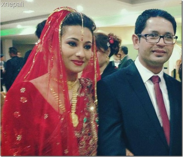 Rejina upreti and suraj marriage 1