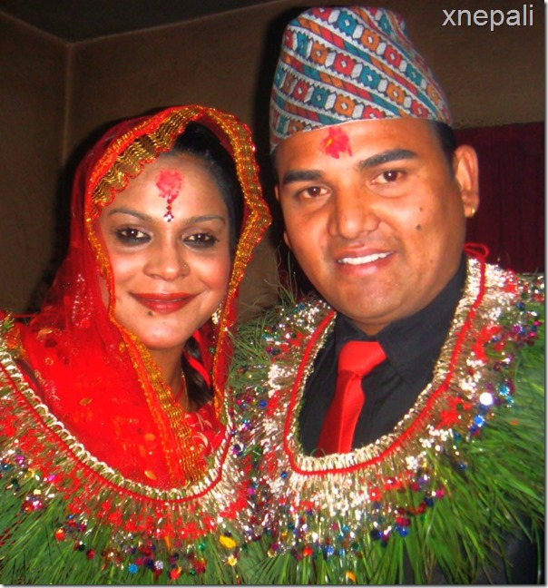 Shankar BC and Nisha Sunar marriage - smile 1