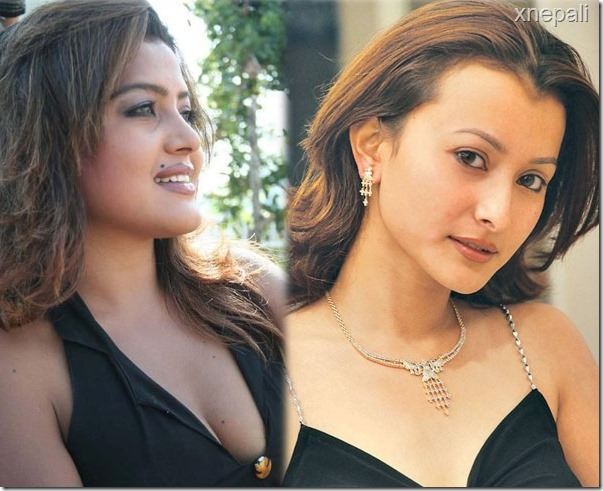 rekha thapa and namrata together