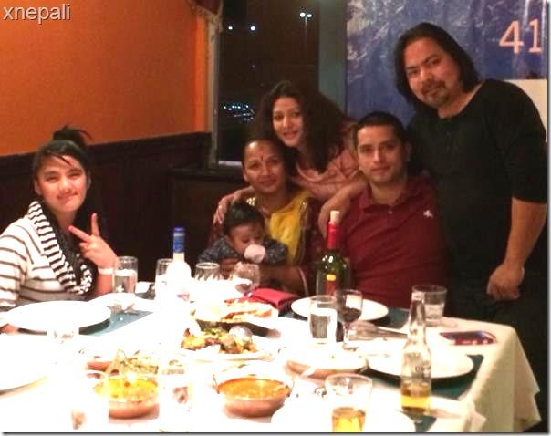 saranaga anniversary -- pooja  chand and raju lama 2