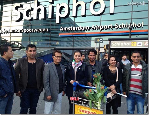 Nisha adhikari nas film award holland (1)