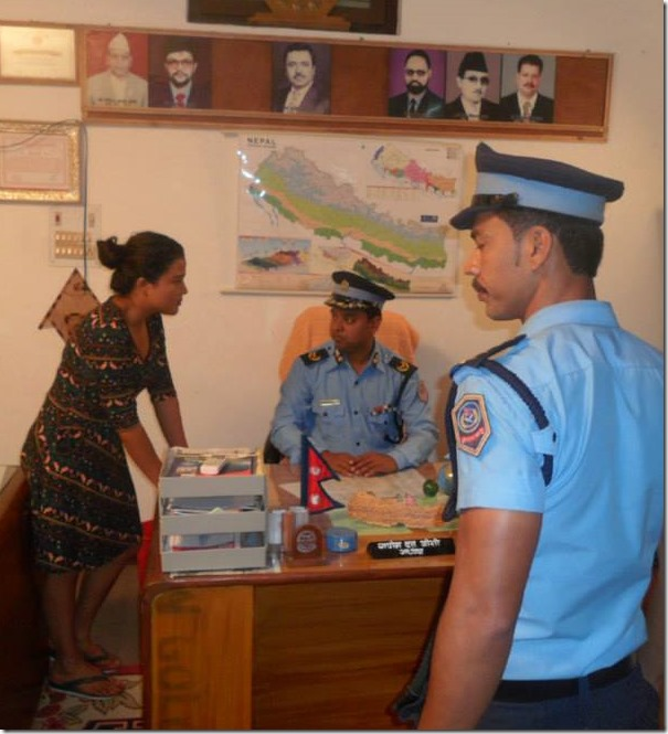 Rekha Thapa - police in shooting of himmatwali
