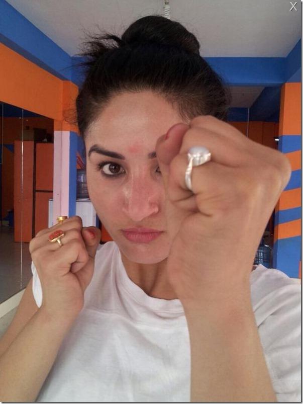 garima pant - thuli fight training (2)