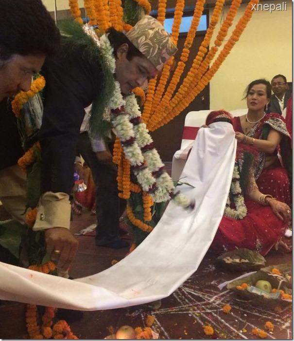 rajesh hamal marriage ceremony (7)
